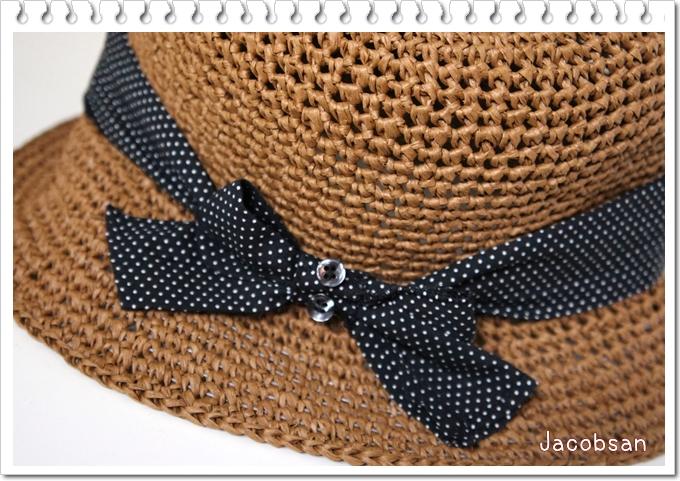 クラフトクラブの帽子リボン