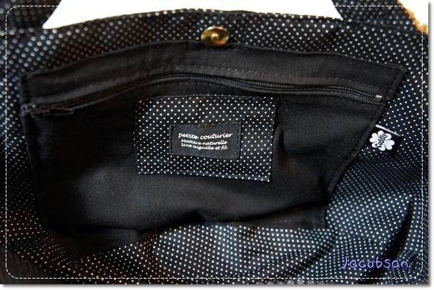 自分用バッグの中ポケット