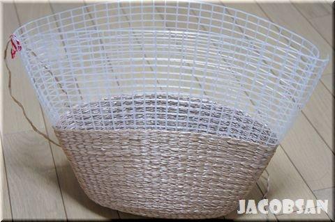 初めてさんでもきれいに仕上がる!エコアンダリヤで編むネット編みつけのバッグ : ハマナカが運営する、手編みと手芸の
