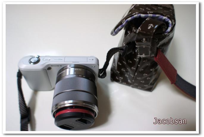 カメラバッグとNEX5