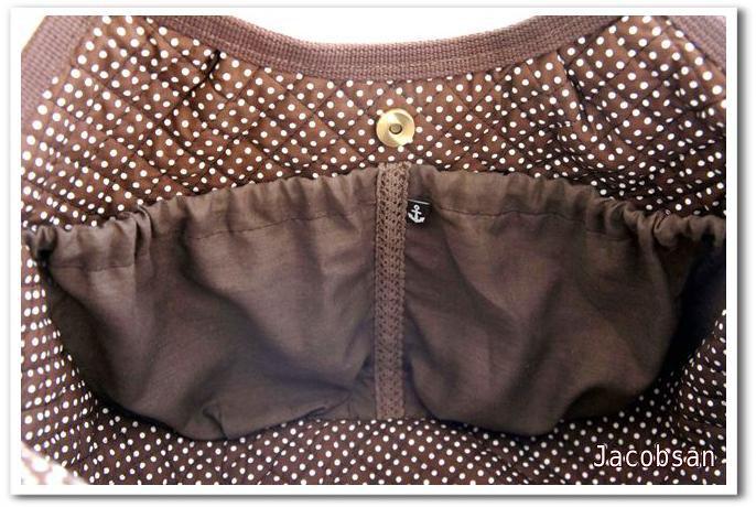 バッグのゴムポケット