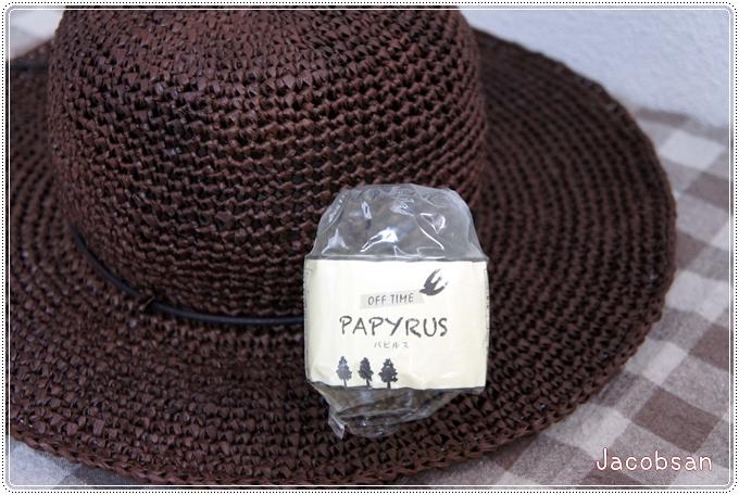 幅広帽子編み糸