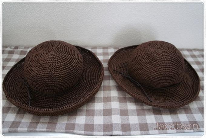 幅広帽子比較