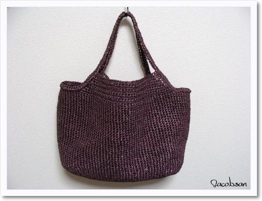 エコアンダリヤのバッグ